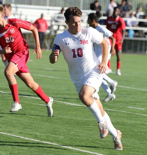 Justin Gielen '18 Named Gatorade Soccer Player of the Year in Maryland