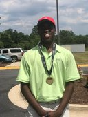 Joey Graham II '20 finished 1st in the Mid-Atlantic PGA Golf Tournament at Old Hickory Golf Course with score of 79