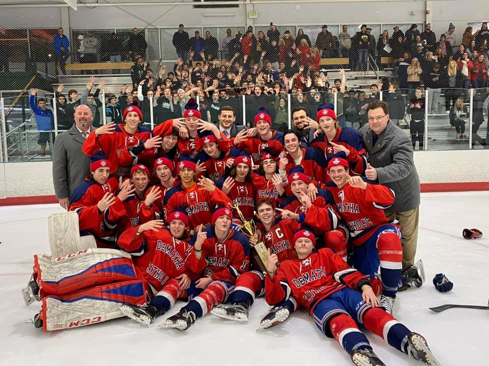 Prep Hockey Wins 4th Straight WCAC Title!