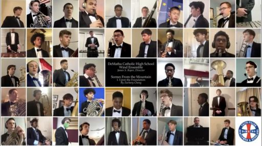 """Scenes From The Mountain"" by Zachary Cheng '21 (Performed by DM Wind Ensemble)"
