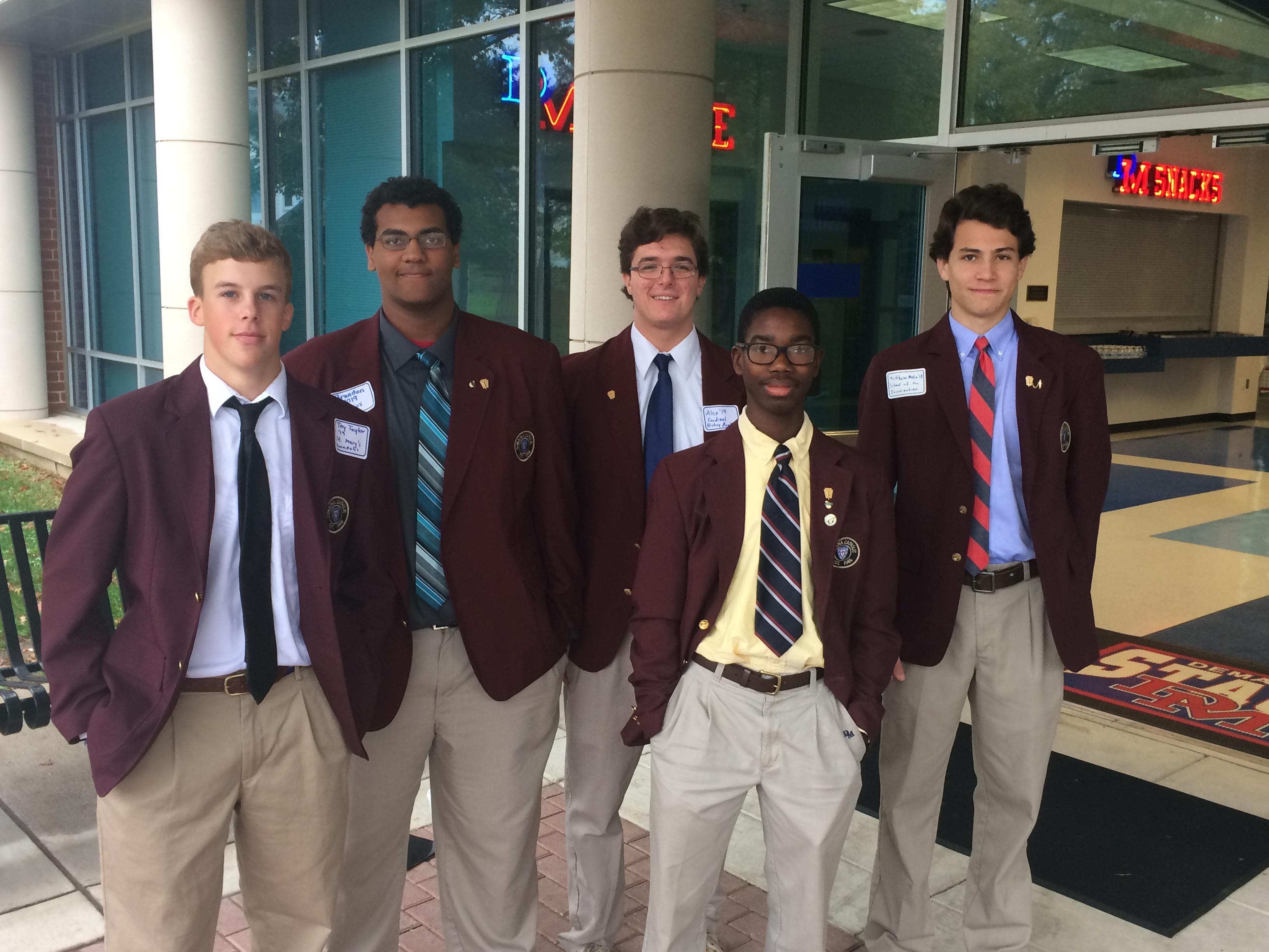 School Uniforms - DeMatha Catholic High School