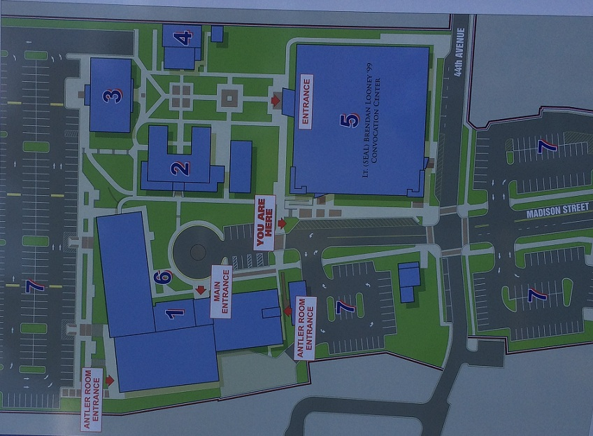 directions campus map
